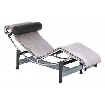 chaise longue le corbusier lc4 fauteuil lc4 le corbusier meubles cassina sur authentics design. Black Bedroom Furniture Sets. Home Design Ideas