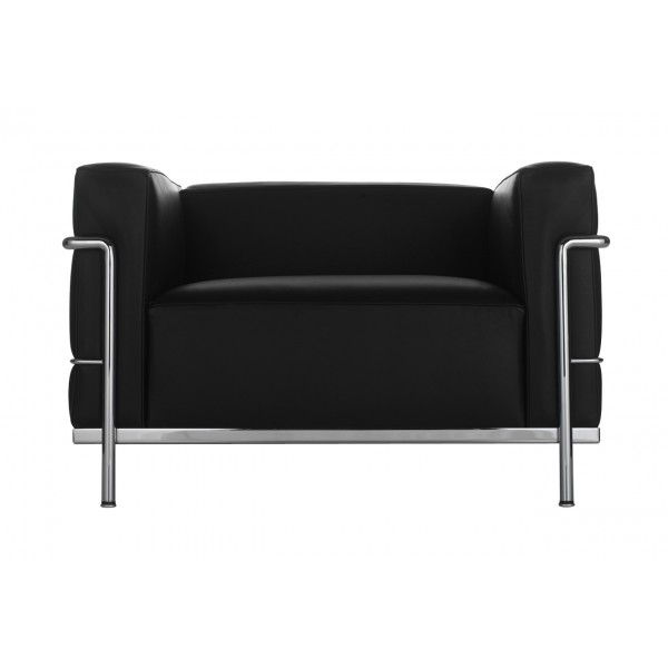 fauteuil lc3 le corbusier canap lc3 le corbusier canap lc33 cassina authentics design. Black Bedroom Furniture Sets. Home Design Ideas